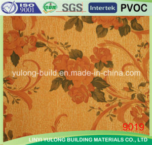 Popular Colorful Paper Design Gypsum Ceiling Tile pictures & photos