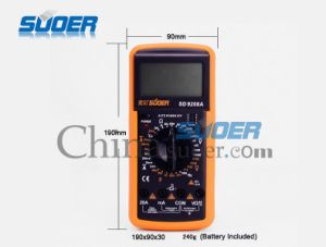 Suoer High Quality Digital Multimeter with CE&Rohs (SD_9208A) pictures & photos