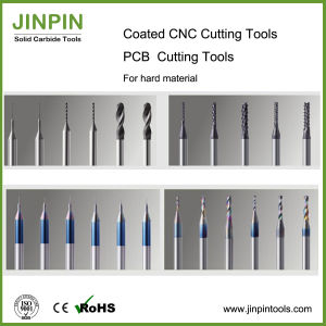 2-Flute Solid Carbide End Mill for Aluminum Backed Pcbmaterial pictures & photos