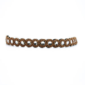 New Fashion Bohemian Brown Beads Hairwraps National Style Handmade Elastic Personality Hairwrap Original Headbands