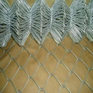 Chain Link Fence in Hot-Dipped Galvanized pictures & photos