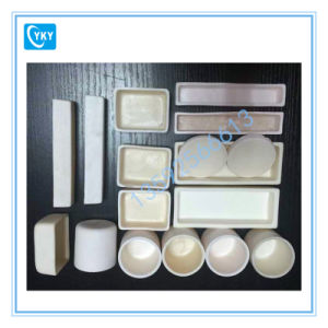 High Temperature Purity Ceramic Crucible/Alumina Crucibles Boat for Tube Furnace pictures & photos