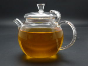 650ml Heat Resistant Glass Teapot with Infuser Coffee Tea Leaf Herbal (made of borosilicate glass 3.3) pictures & photos