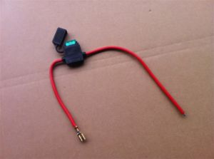 48V/36V Battery Cable Set with Fuse pictures & photos