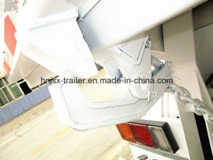 China Factory Heavy Truck 3 Axle U Shape Dump Trailer pictures & photos