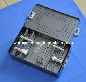 Stainless Steel Medical Device Disinfectant Box for Hospital pictures & photos