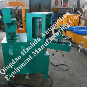 Brake Shoe Rivet and Grind Machine with Dust Collector System pictures & photos