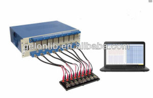 8 Channel Battery Analyzer (0.1-10mA, up to 5V) with Laptop & Software for Research pictures & photos