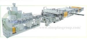 PP Hollow Sheet Line pictures & photos