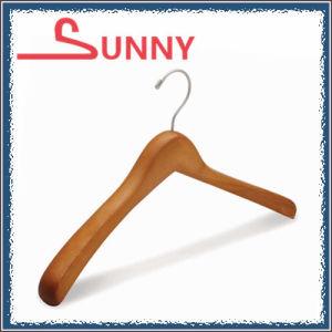 Wooden Economic Hanger for Coat/Jacket