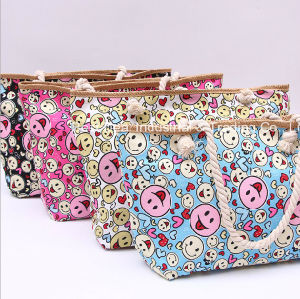 Smile Face Straw Bag pictures & photos