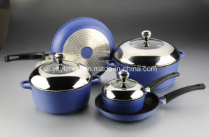 8PCS Die-Cast Aluminum Non-Stick Cookware Set pictures & photos