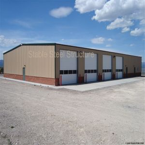 China Cheap Prefabricated Metal Frame Garage pictures & photos