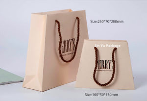 Gift Shopping Paper Hand Bags Manufacture for Jewelry Box Packaging pictures & photos