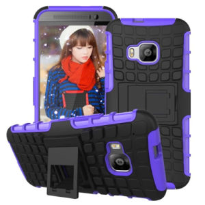 Mobile Cell Phone High Quality Combo Holster Stand Cover for HTC One M9 pictures & photos