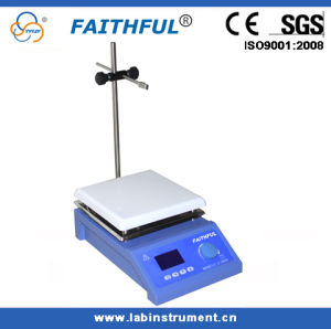 Digital Hotplate Stirrer, Ceramic Magnetic Stirrer with Heating pictures & photos