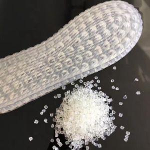 Soft transparent granules for shoe soles PVC pictures & photos
