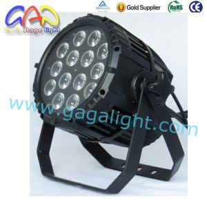 Stage Lighting Powerful 14PCS Rgbwap Outdoor 14*18W LED PAR Can pictures & photos