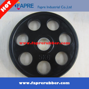 Body Building/Fitness Product Olympic Grip Rubber Weight Plates/Dumbbell Set pictures & photos