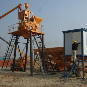 25m³ /H Protable Concrete Mixing Plant pictures & photos