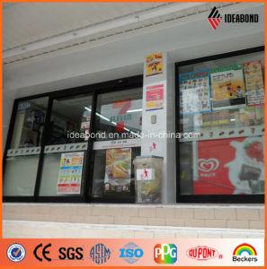 Thailand Senven-Eleven Shop Decoration Pearl Yellow Aluminum Composite Panel (AE-60B) pictures & photos
