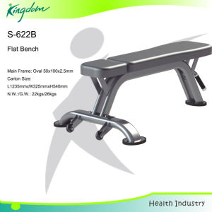 Fitness Gym Equipment Flat Bench pictures & photos