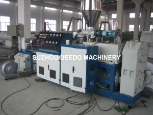 Plastic Extruder Machine for PVC Granules Making pictures & photos