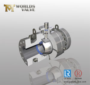 Stainless Steel Ball Valve with Bare Stem