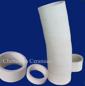Manufacturer Wear Abrasion Resistant Alumina Ceramic Pipe Tube Bend Elbow pictures & photos
