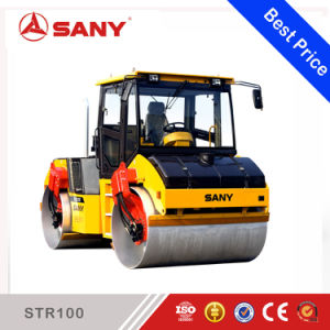 Sany Str100-6 Double Drum Steelself-Propelled Vibratory Road Roller Compactor pictures & photos