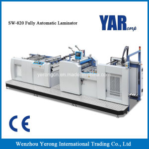 Factory Price Sw-820 Fully Automatic Film Laminating Machine for Sale pictures & photos