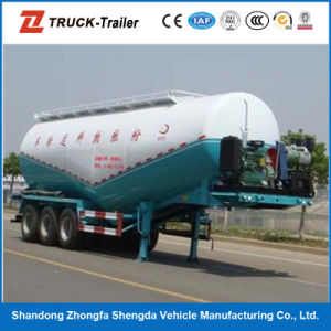 Low Density Powder Material Transportation Semi Trailer