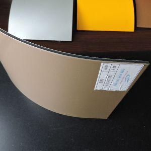 Shinning Coffee Color PE Coated Aluminum Composite Panel pictures & photos