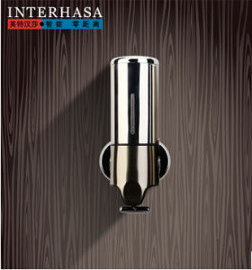 Bathroom Single Stainless Steel Foam Wall -Mounted Soap Dispenser pictures & photos