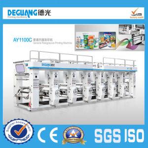 General Rotgravure Printing Machine Plastic Machine Printing Machinery (AY1100C) pictures & photos