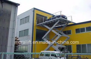 Heavy Duty Hydraulic Parking Car Lift pictures & photos