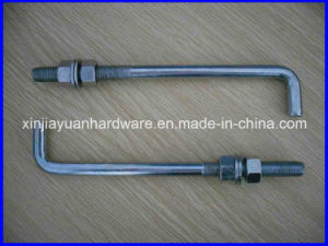 Galvanized Foundation L Type Bolt pictures & photos