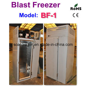 Stainless Steel Quick Freezer Temperature -35degree C with Single Trolley pictures & photos