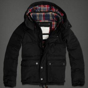 Waterproof Down Jacket Black Winter Coat Cotton pictures & photos