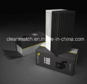 White-Black Safety Matches for Brand