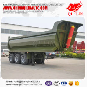 30ton U-Shape Heavy Tipper Trailer Coal Truck for Sale pictures & photos