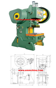 EMM EMH23-16 C-Frame High Performance Inclinable Presses Machine