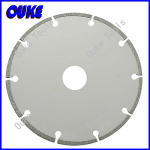 Electroplated Segment Diamond Cutting Saw Blade pictures & photos