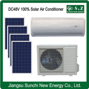100% DC48V Solar Powered Air Conditioner for Home Cooling pictures & photos
