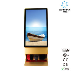 42′′ Ultra Thin WiFi Advertising TV Standing Digital Kiosk pictures & photos