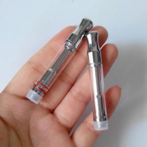 510 Thread Glass Cbd Electronic Cigarette Cotton Coil Atomizer pictures & photos