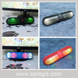 Capsule Pills LED Wireless Bluetooth Speaker Support USB-Disk/FM/TF pictures & photos