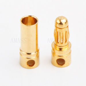 Male&Female 3.5mm Gold Plated Connector