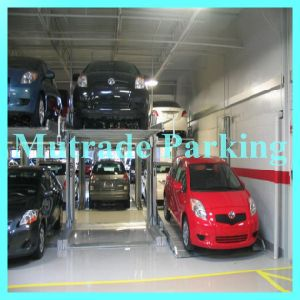 Hydraulic Smart Tilting Two Post Car Parking Systems pictures & photos