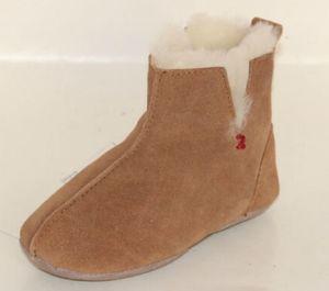 Sheepskin Slipper for Women and Girls Chestnut.